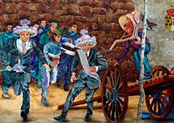 Mural Fiesta de la Vaquilla